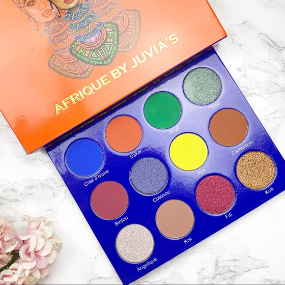 Sephora Other - Juvia's place Afrique Eyeshadow Palette